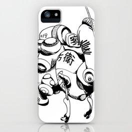Maintenance Droid iPhone Case