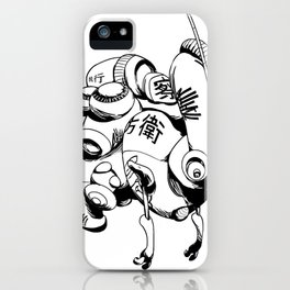 Maintenance Droid iPhone Case