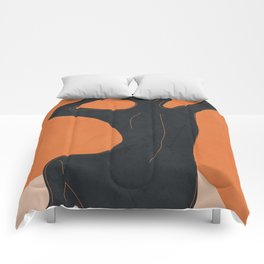 Abstract Nude I Comforters