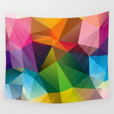Geometric view Wall Tapestry