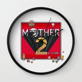 Alternative Mother 2 / Earthbound Title Screen Wall Clock