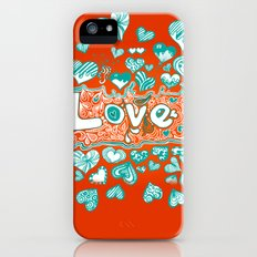 Love Doodle iPhone (5, 5s) Slim Case