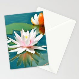 Waterlily 250 Stationery Cards
