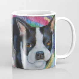 Boston Terrier and Puppies Coffee Mug