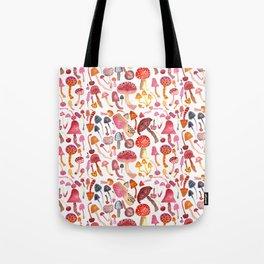 Mushroom Melody Tote Bag