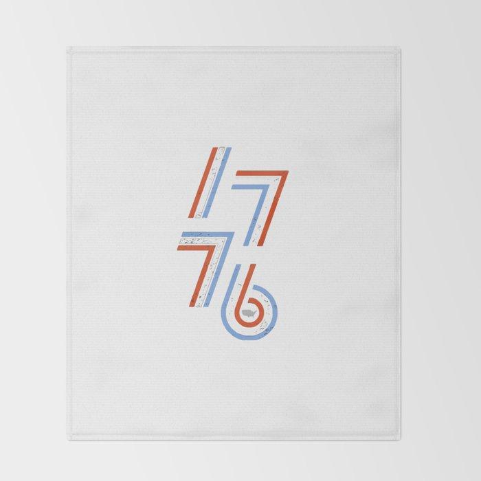 76 Stripes Throw Blanket