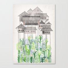 Stilts Canvas Print