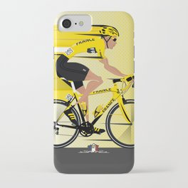 France Yellow Jersey iPhone Case