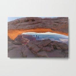 Mesa Arch - Canyonlands National Park Metal Print