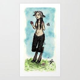 Satyress Art Print