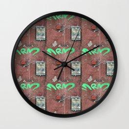 Grungy Mailbox Wall Clock