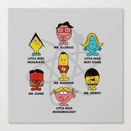 Mr. and Little Miss TBBT Canvas Print