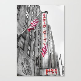 Radio City Music Hall New York Canvas Print