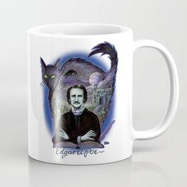Edgar Allan Poe Gothic Coffee Mug