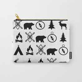 Outdoor Icon Pattern Carry-All Pouch