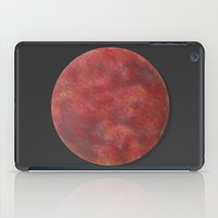 mars iPad Cases featuring Mars by Kimsey Price