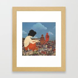 Cyclothymia Framed Art Print