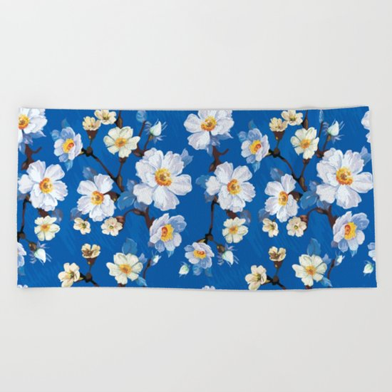 Spring in the air #12 Beach Towel