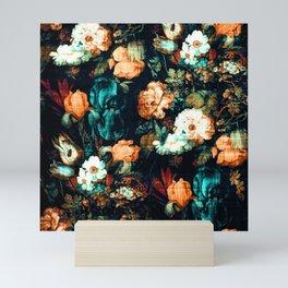 Vintage Floral Mini Art Print