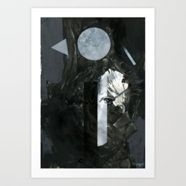 Leaves Nocturnes Art Print