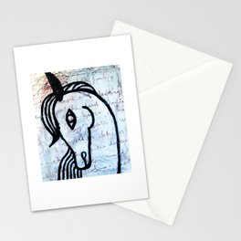 A horse from foreign country Stationery Cards