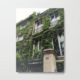 Montmartre Ivy, Paris Metal Print