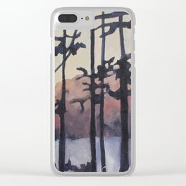 Forest on the River Clear iPhone Case