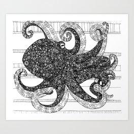 Mr. Octo Art Print