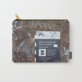 Camden moorings sign Carry-All Pouch