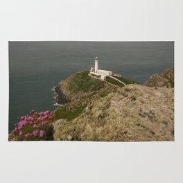 South Stack Lighthouse Rug
