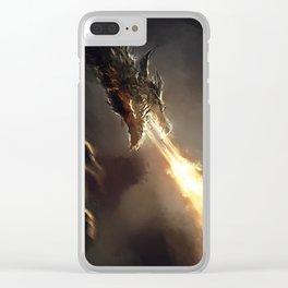 Alduin Clear iPhone Case