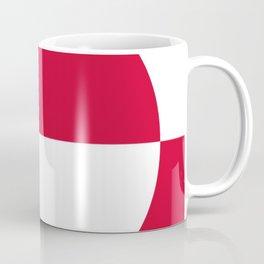 Flag of greenland 2-greenlandic,kalallit,inuit,thule,nuuk,tupilak. Coffee Mug