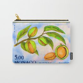 Branch of an almond tree in autumn Carry-All Pouch
