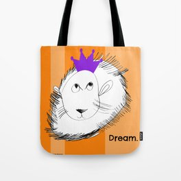 The Lion Dreams Big - Art by a Child Tote Bag