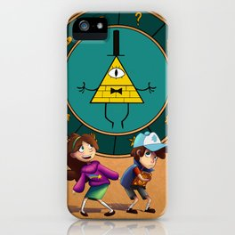 Mystery Twin's iPhone Case