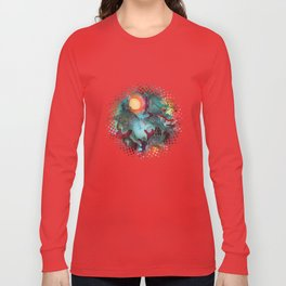 Color Splash Long Sleeve T-shirt
