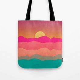 Minimal Landscape 13 Tote Bag