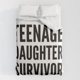 Teenage Daughter Survivor Comforters