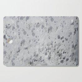 Silver Hide Print Metallic Cutting Board