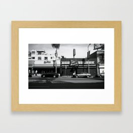 Cahuenga Blvd. Framed Art Print