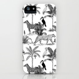 botanical jungle iPhone Case