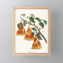 Pizza Plant Framed Mini Art Print