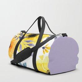 FLOWERS WATERCOLOR 10 Duffle Bag