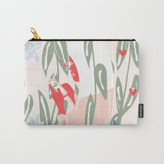 Planting The Social Life Carry-All Pouch