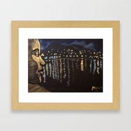 Chill... Lagoon Framed Art Print