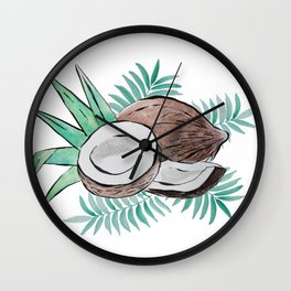 coconut passion Wall Clock