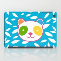 murakami iPad Cases featuring Rainbow Panda by XOOXOO