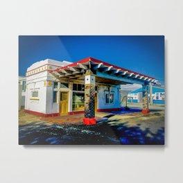 Gas Palace. Metal Print