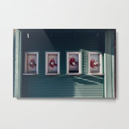 Red Socks Metal Print