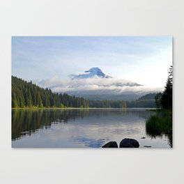 Morning at Mt. Hood Canvas Print
